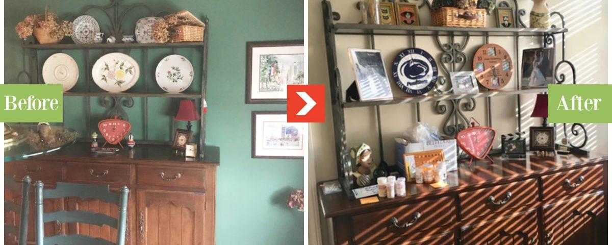 hutch cabinet replicated