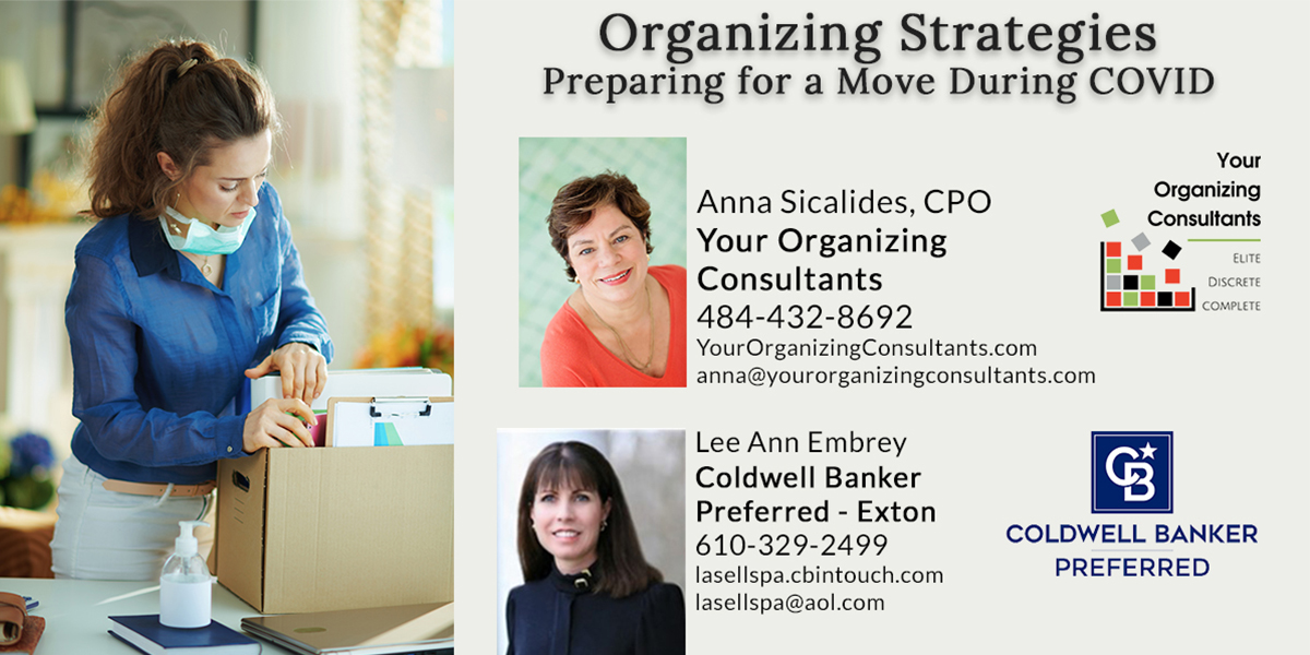 Organizing Strategies Preparing for a Move during COVID event details